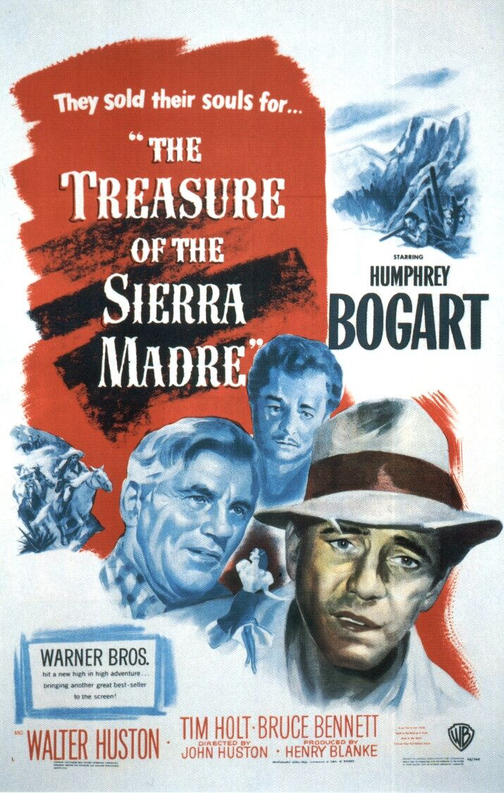 an examination of the movie treasure of the sierra madre The treasure of the sierra madre is a 1948 american dramatic adventurous neo- western written and directed by john huston it is an adaptation of b traven's.