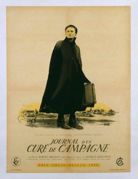 1950 Journal dun cure de campagne - Diario de un cura rural (fra) 01.jpg